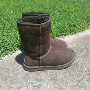 UGG Chocolate Classic Short Boots